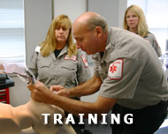 EMT Training and education at LifeLine Ambulance